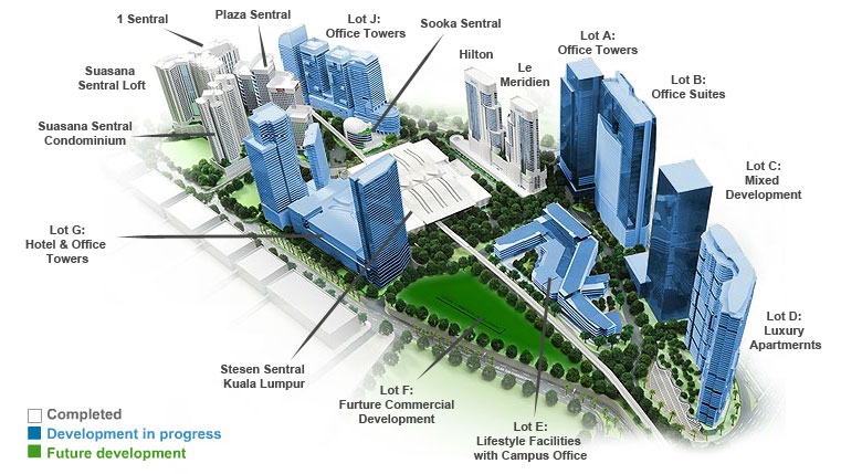 Plaza Sentral Office Space To Let For Sale In Kl Sentral