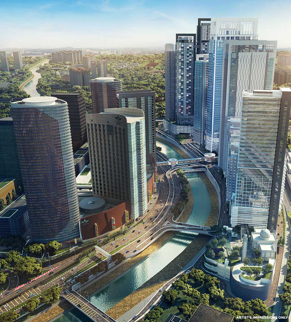 aspire tower corporate office to let in kl eco city